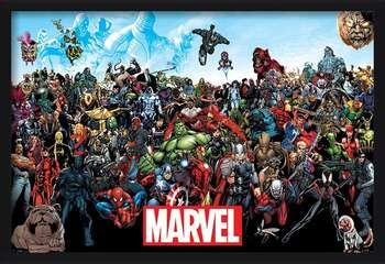 Marvel - Universe Uokvireni plakat