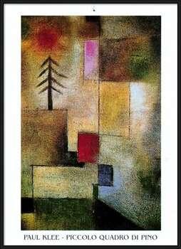 P.Klee - Piccolo Quadro Di Pino Uokvireni plakat