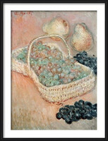 Claude Monet - The Basket of Grapes, 1884 Uokvireni plakat