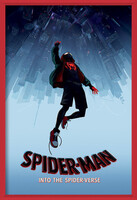 Spider-Man: Into The Spider-Verse – Fall Uokvireni plakat