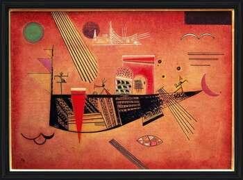 Wassily Kandinsky - Whimsical Uokvireni plakat