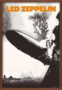 Uokvireni plakat Led Zeppelin - Led Zeppelin I