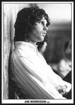 Uokvireni plakat Jim Morrison - The Doors 1968