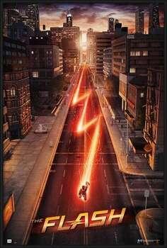 Uokvireni plakat The Flash - One Sheet
