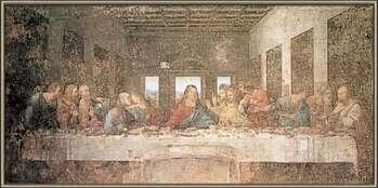 Uokvireni plakat The Last Supper
