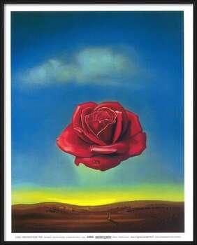 Uokvireni plakat Meditative Rose, 1958