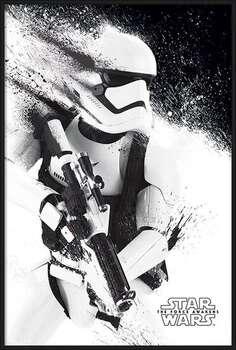 Uokvireni plakat Star Wars Episode VII: The Force Awakens - Stormtrooper Paint