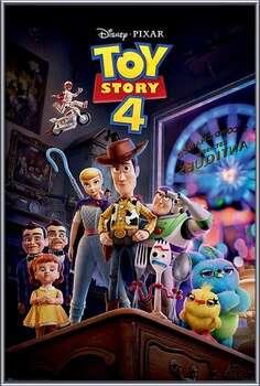 Uokvireni plakat Toy Story 4 - Antique Shop Anarchy