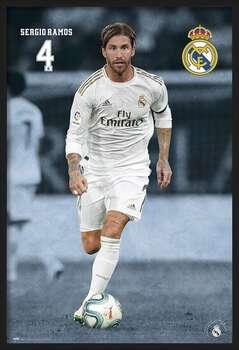 Uokvireni plakat Real Madrid 2019/2020 - Sergio Ramos