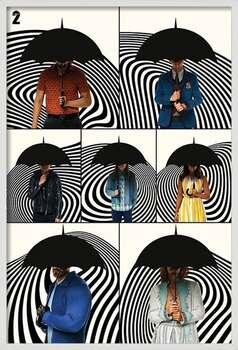 Uokvireni plakat The Umbrella Academy - Family