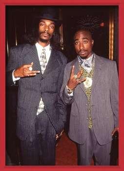 Uokvireni plakat Snoop Dogg & Tupac - Suits