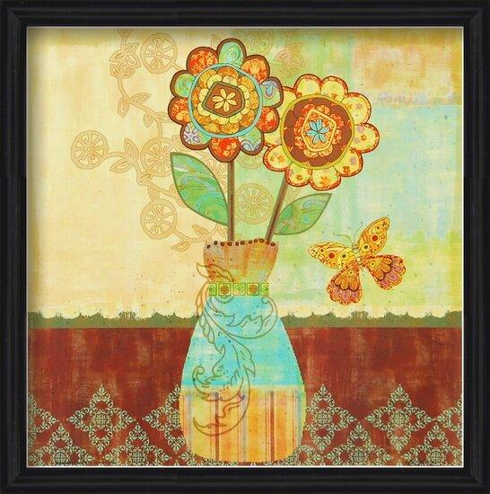 Bohemian Floral II Reprodukcija umjetnosti