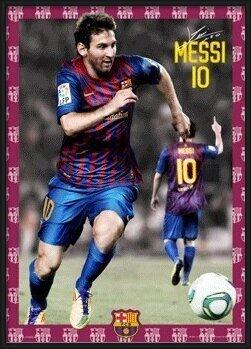Barcelona - Messi 11/12 3D Plakat