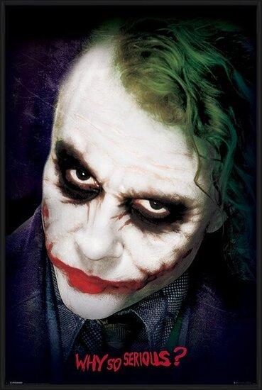 The Dark Knight: Le Chevalier noir - Joker Face Poster