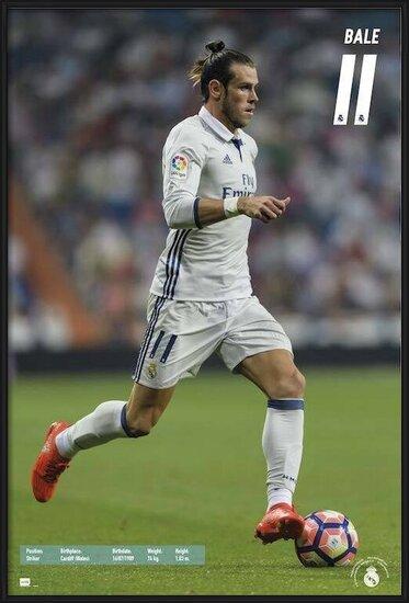 Real Madrid 2016/2017 - Gareth Bale Poster