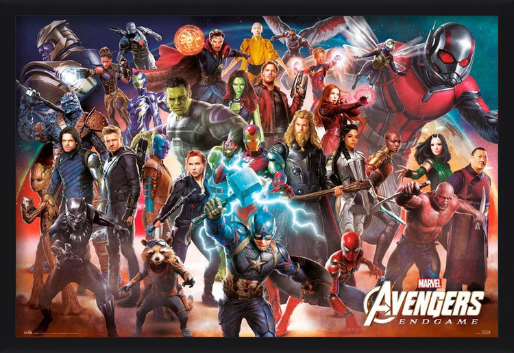 Avengers: Endgame - Line Up Poster